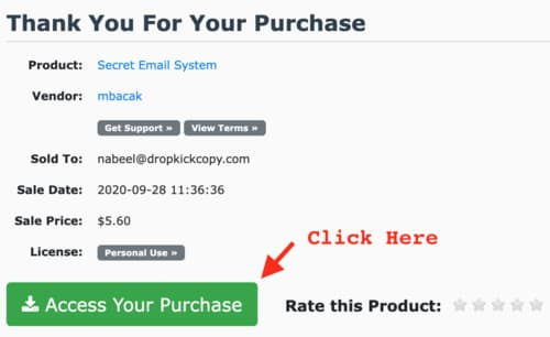 review of secret email system by matt bacak